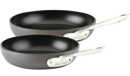 All-Clad 2-Piece Fry Pan Cookware Set